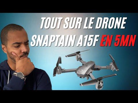 Drone Snaptain A15F: Bon plan? Présentation Review spec Unboxing Test