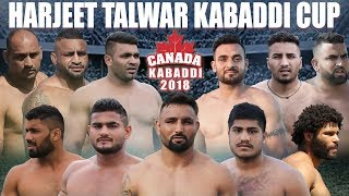 LIVE - Harjeet Talwar Kabaddi Cup Abbotsford | 2018 Canada Kabaddi