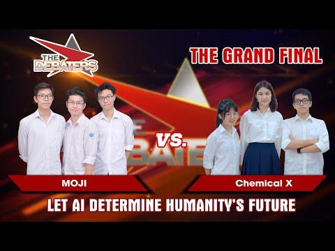 Chung kết The Debaters | Để AI quyết định tương lai của nhân loại? | MOJI vs Chemical X