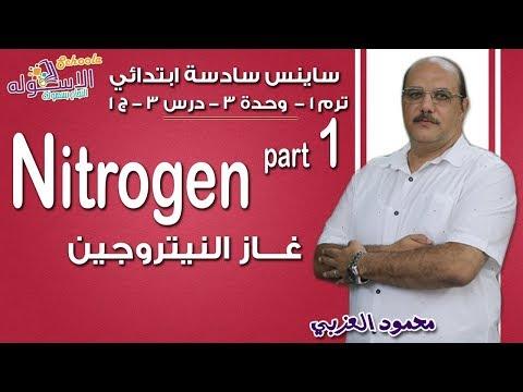 ساينس سادسة ابتدائي 2019 | Nitrogen | تيرم1 - وح3 - در3- جزء 1 | الاسكوله