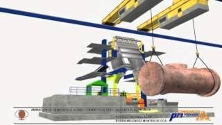 Animación 3D cambio Horno Convertidor PS 3