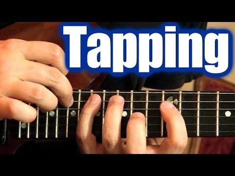 Rock Guitar Lesson: Tapping Built for Speed! How to Solo, Why learn scales? Free Guitar Lessons