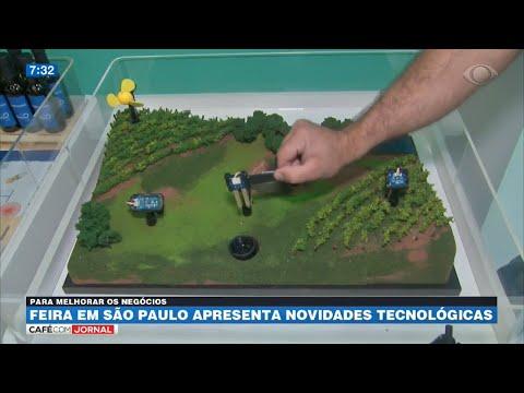 Feira apresenta novidades tecnológicas para o campo