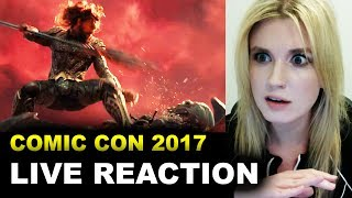 Justice League Comic Con Trailer 2017 REACTION