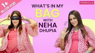 What's in my bag with Neha Dhupia | Fashion | Bollywood | Pinkvilla