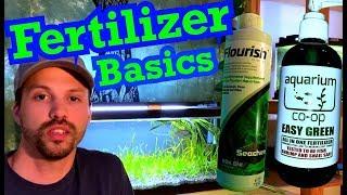 Aquarium Fertilizer Basics | Planted Tank Dosing