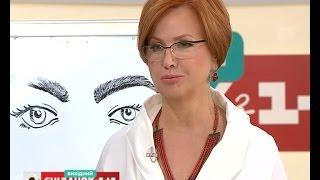 Ірина Медвєдєва розповіла все про догляд за бровами