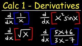 Calculus 1 - Derivatives