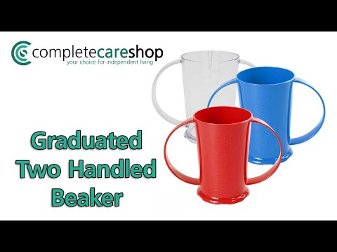 Graduated Two Handled Beaker - Graduated Marks