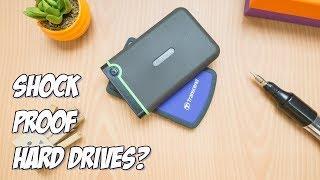 Transcend StoreJet 25M3 VS 25H3 - What's inside a shockproof hard drive?