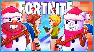 SNEAKY SNOWMAN GANG in Fortnite: Battle Royale! (Fortnite Funny Moments w/ LEGIQN)