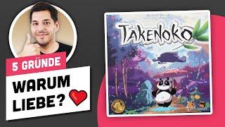 Takenoko • Darum musst du es spielen ❤️