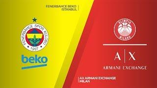 Fenerbahce Beko – AX Armani Exchange Milan