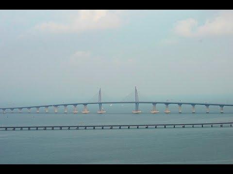 Κίνα: Στην κυκλοφορία η μεγαλύτερη γέφυρα στο κόσμο, μήκους 55 χλμ! (βίντεο)