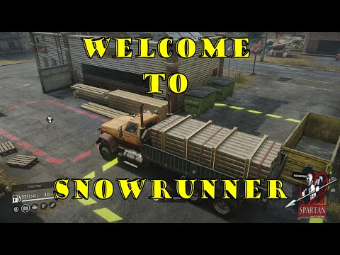 Welcome to Snow Runner! (Snow Runner Xbox One X) 4k