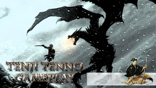 Skyrim gameplay Забрать белый флакон Забытая пещера