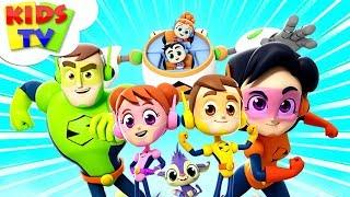 Meet The Supremes | Superheroes Cartoons | Nursery Rhymes For Children - Kids TV