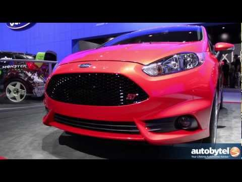 2014 Ford Fiesta ST At The LA Auto Show