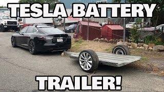 DIY Tesla Battery Trailer