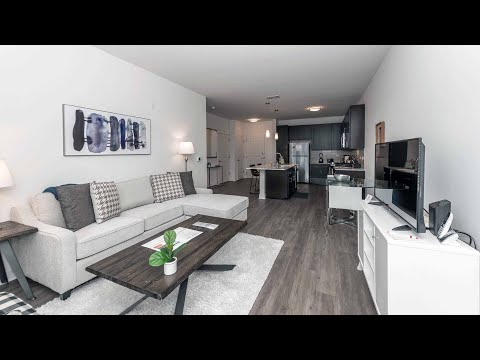 A furnished short-term -09 1-bedroom in Schaumburg at the new Element at Veridian