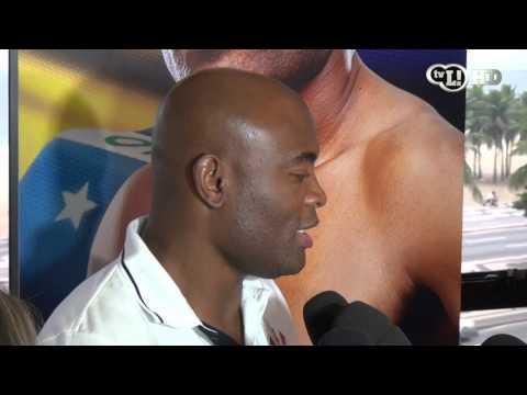 Anderson Silva do Corinthians fala de sua Próxima luta no UFC Rio e Sobre Belfort