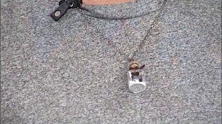 DIY: Message In A Bottle Keepsake Necklace