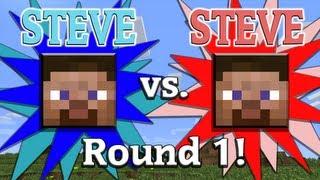 Steve vs. Steve - A Minecraft Rivalry - EP01