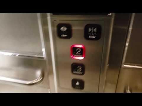 Generic Hydraulic Elevator at TTC Dufferin Subway Station - Toronto ON