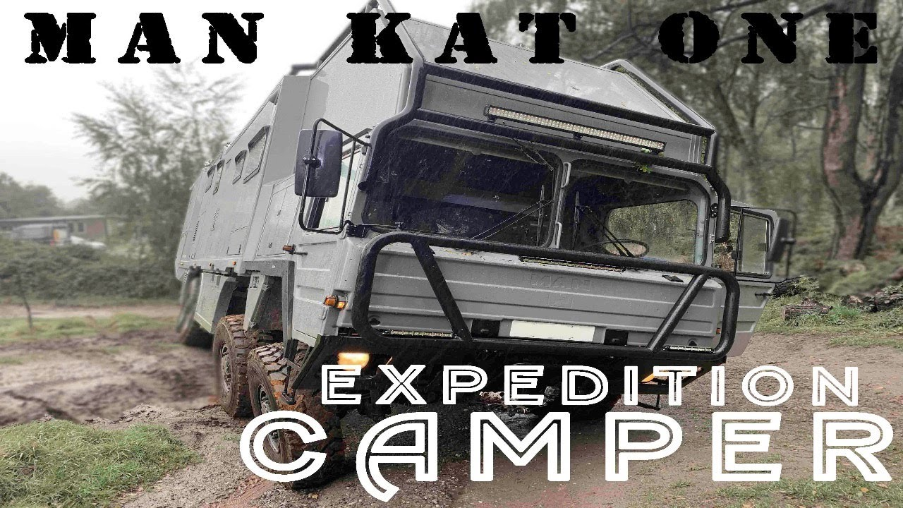 MAN KAT1 – Luxury Expedition Camper