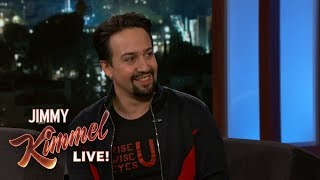 Lin-Manuel Miranda Loved Making Mary Poppins