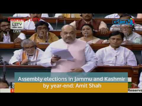 Assembly elections in Jammu and Kashmir by year-end: Amit Shah