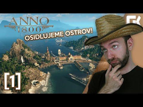 OSIDLUJEME OSTROV! | Anno 1800 #01