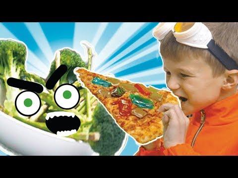 NEW Superzuzaa ⚡Zuzaa VS Vegetables ⚡Superheroes in Real Life