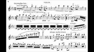Sarasate, Pablo de Zigeunerweisen for violin + orchestra