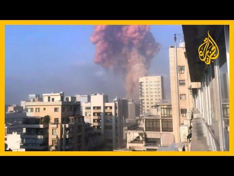🇱🇧 أستاذ العلوم السياسية علي شكر أصداء انفجار بيروت وصلت إلى مدينة صور على بعد 100 كيلو متر