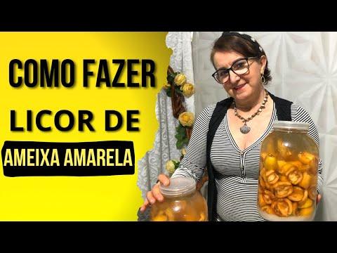 Licor de Ameixa Amarela