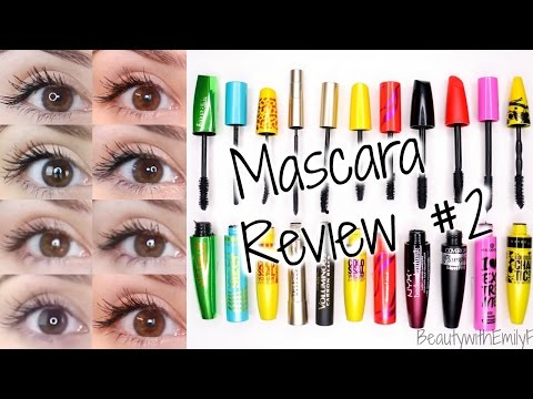 Mascara Reviews || BEST & WORST|| Drugstore + EYE PICTURES