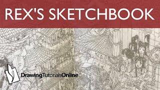 Rex's Second Sketchbook