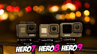 ☀ GoPro HERO9 Black. FPV обзор / сравнение с Hero7, Hero8 [GoPro Hero 9]
