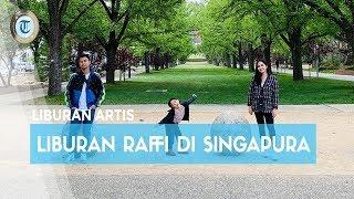 Raffi Ahmad dan Nagita Slavina Bersama Rafathar ke Universal Studios Singapore Fans