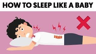These 5 Methods Will Help You Sleep Like a Baby