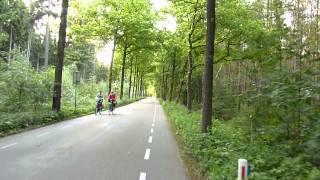 preview picture of video 'Bicycle Trip: De Bilt - Bilthoven - Lage Vuursche - Baarn [DBBLVB]'