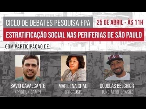 """3° Debate   """"Percepções e valores políticos nas periferias de São Paulo""""."""