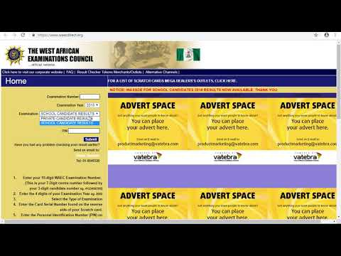 How to check WAEC Result | Step By Step Guide