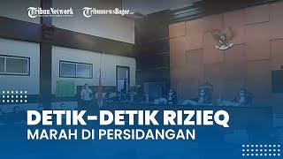 Detik-detik Rizieq Shihab Marah di Persidangan Kasus Swab RS UMMI, Bima Arya Beberkan Faktanya