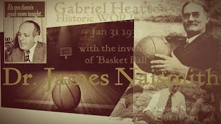 Dr James Naismith - Creator Of Basketball In Rare Interview 1939 WOR Radio