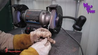 Basics of TIG Welding - How To sharpen Your Tungstens