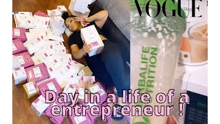 DAY IN A LIFE OF A YOUNG ENTREPRENEUR VLOG+RANT