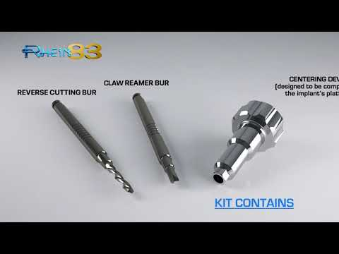 Rhein83 Broken Screw Extractor Kit Product Video