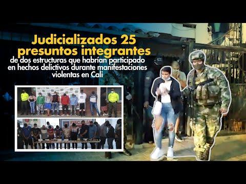 Fiscal Barbosa: Judicializadas 25 personas que habrían participado en hechos delictivos en Cali